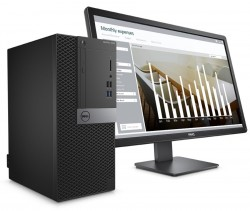 Dell Optiplex 5050 Desktop (i5-7500U, 4GB, 500GB) With Monitor